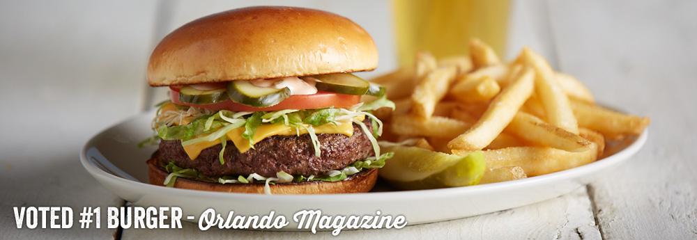 Margaritaville Orlando Best Burger